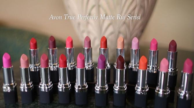 Avon True Mat Rujla çekici Dudaklar Video Trenduscom
