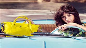 Alexa Chung Longchamp Reklamı