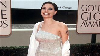 Angelina Jolie 1998 Altın Küre Ödülleri`nde