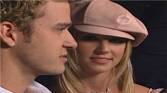 Britney Spears ve Justin Timberlake 2002