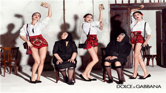 Dolce & Gabbana`nın 2015 reklam kampanyası