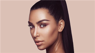 Kim Kardashian'ın Kontür Makyajı