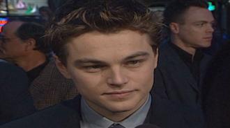 Leonardo DiCaprio 1997`de Titanic Galasında
