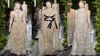 PFW Couture Valentino 2014 Kış Defilesi