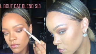 Rihanna Makyajı Nas��l Yapılır?