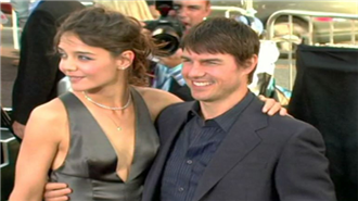 Tom Cruise ve Katie Holmes 2005