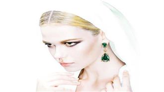 Versace 2015 mücevher koleksiyonu çekimi